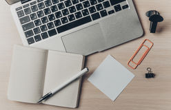 Working place, office Royalty Free Stock Photos
