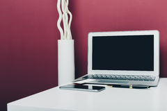 Working place, office Royalty Free Stock Photo