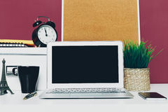 Working place, office Stock Photos