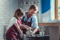 Working potters Royalty Free Stock Photo