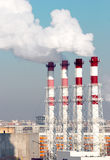 Working power station Royalty Free Stock Images