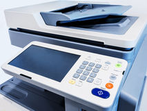 Working printer scanner copier device Stock Photography