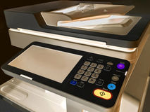 Working printer scanner copier device Royalty Free Stock Photos