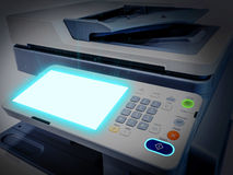 Working printer scanner copier device Royalty Free Stock Images