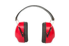 Working protective headphones. Stock Photography