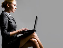 Working secretary Stock Images