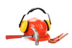 Working set of tools. Royalty Free Stock Images