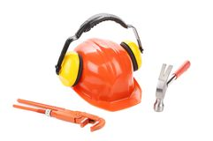 Working set of tools. Royalty Free Stock Photo
