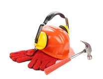 Working set of tools. Stock Photo