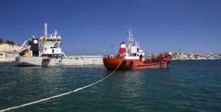 Working ships Stock Image