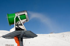 Working snowgun Stock Images