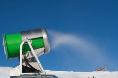 Working snowgun Stock Photography