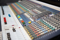 Working soundboard Royalty Free Stock Images