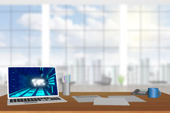 Working space Royalty Free Stock Photos