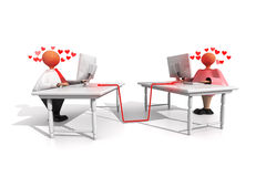 Working Stiffs_Office Romance Stock Photos
