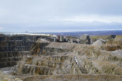 Working Stone Quarry Royalty Free Stock Image