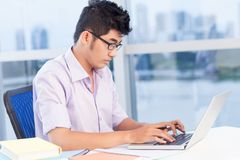 Working student Royalty Free Stock Photography