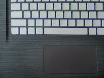 The working surface of the laptop Royalty Free Stock Photography