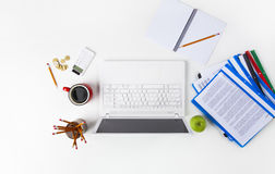 Working Table Royalty Free Stock Image