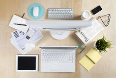 Working Table stock images
