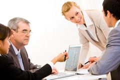 Working team Royalty Free Stock Images