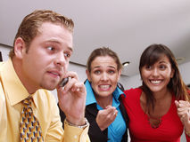 Working team. Royalty Free Stock Photography