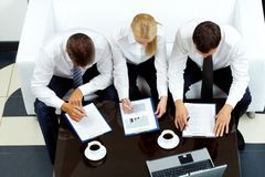 Working team Royalty Free Stock Photography