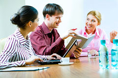 Working team Royalty Free Stock Photo