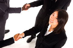 Working team shaking hands Royalty Free Stock Photography
