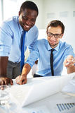 Working in team Stock Image