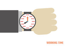 Working time Royalty Free Stock Images