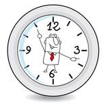 Working time vector illustration