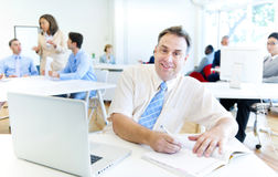 Working time in the office.  Stock Images