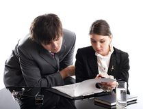 Working Together Stock Images