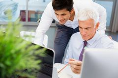 Working together effectively Stock Images