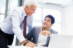 Working together effectively Stock Photo