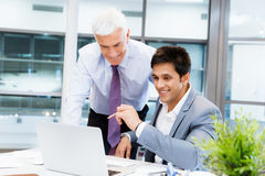 Working together effectively Royalty Free Stock Photos