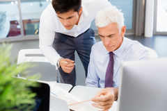 Working together effectively Stock Image