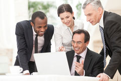 Working together Stock Photography