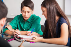 Free Working Together In High School Stock Photography - 41815272