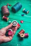 Working tool dressmaker Royalty Free Stock Image