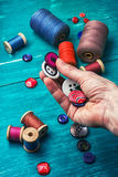 Working tool dressmaker Royalty Free Stock Photo