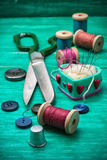 Working tool dressmaker Stock Photos