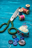 Working tool dressmaker Royalty Free Stock Image