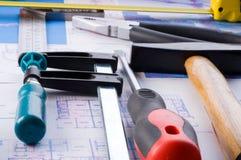 Working tools Stock Photos
