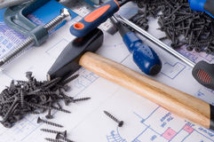 Working tools Stock Images