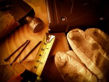 Working Tools Background Stock Images