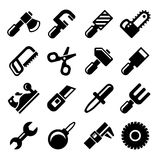 Working Tools Icon Set. Vector Stock Photo