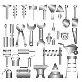 Working tools metal icon Royalty Free Stock Photos