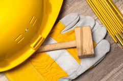 Free Working Tools On A Board Stock Photography - 23774842